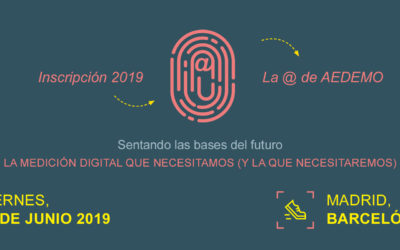 La @ de Aedemo 2019
